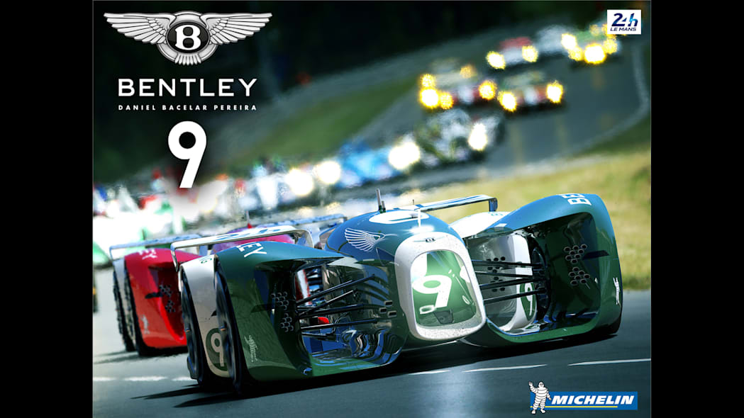 2nd Place: Bentley 9 Plus Michelin Battery Slick by Daniel Bacelar Pereira