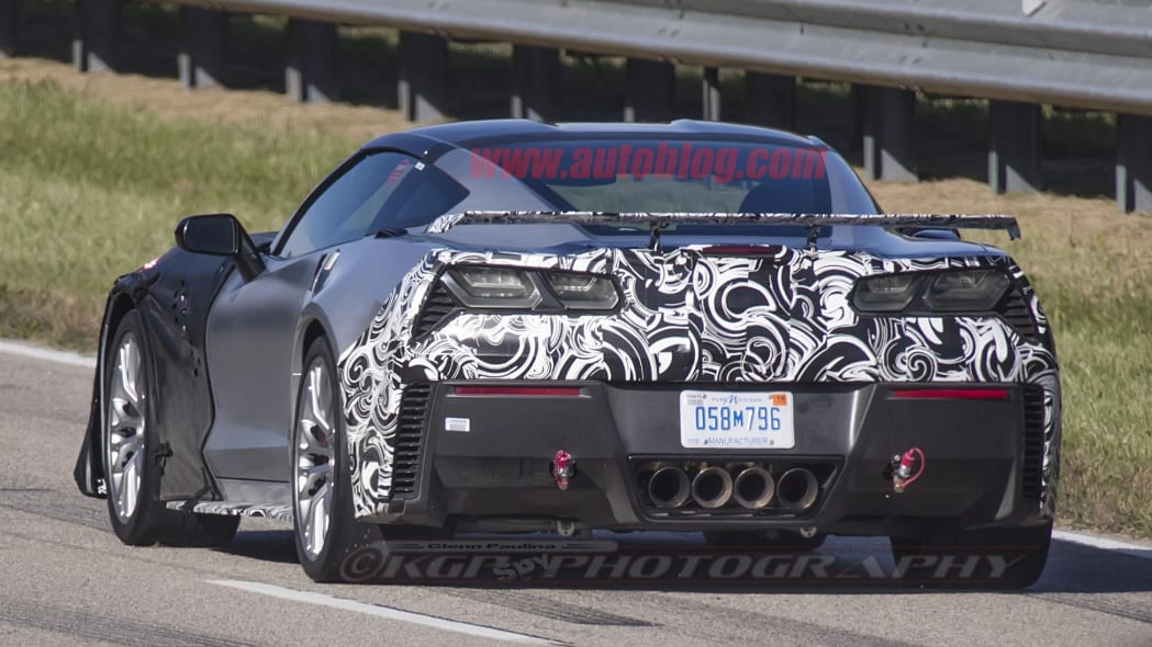 2018 Chevrolet Corvette ZR1 Spy Shots