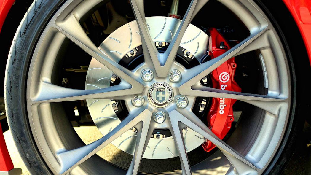 Zero to 60 Designs Ford Mustang GTT HRE wheels and Brembo brakes