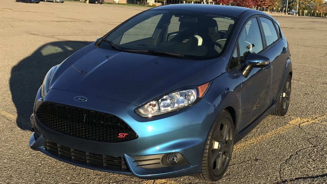 Liquid Blue Ford Fiesta ST Front End Three Quarter Exterior