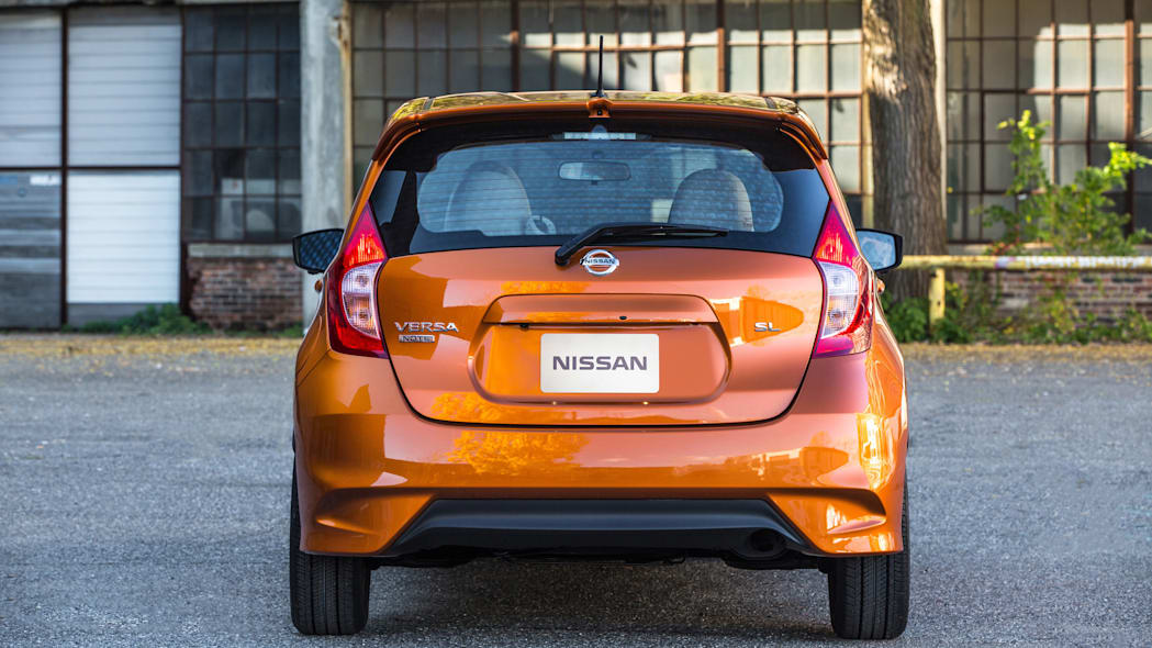 2017 Nissan Versa Note rear