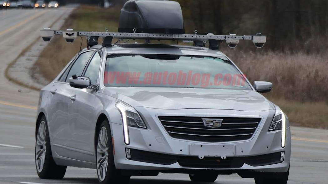 Cadillac CT6 Super Cruise Spy Shots Front End Exterior