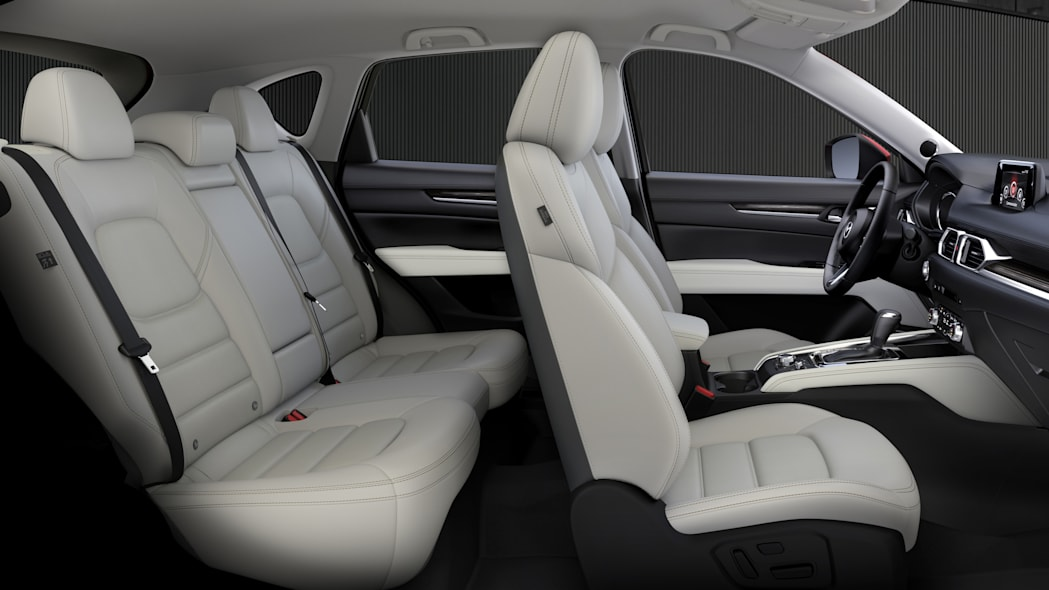 2017 Mazda CX-5 Interior Front and Rear Seats