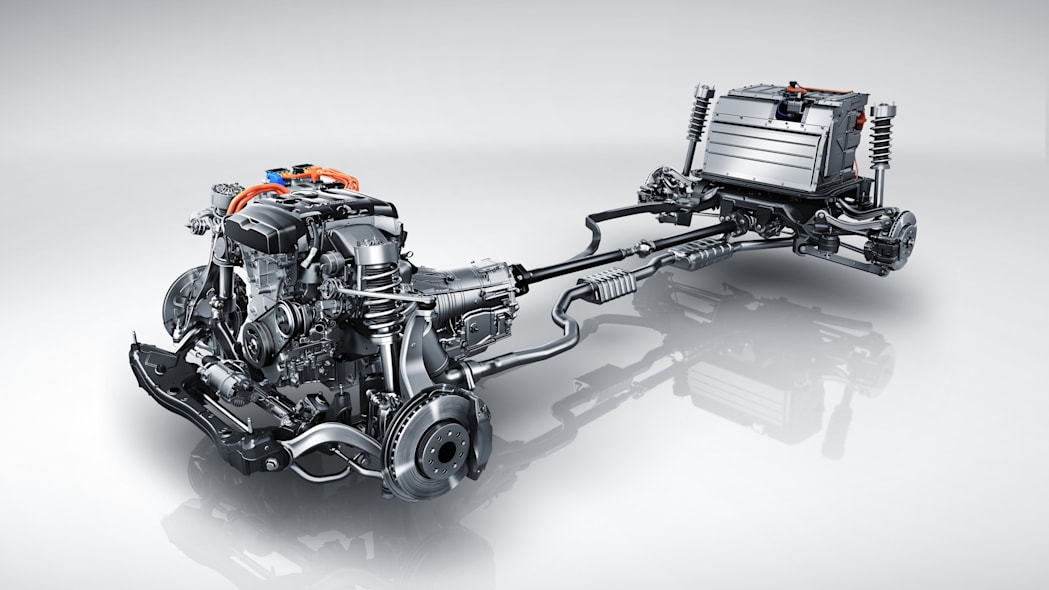 2017 Cadillac CT6 Plug-in Hybrid powertrain