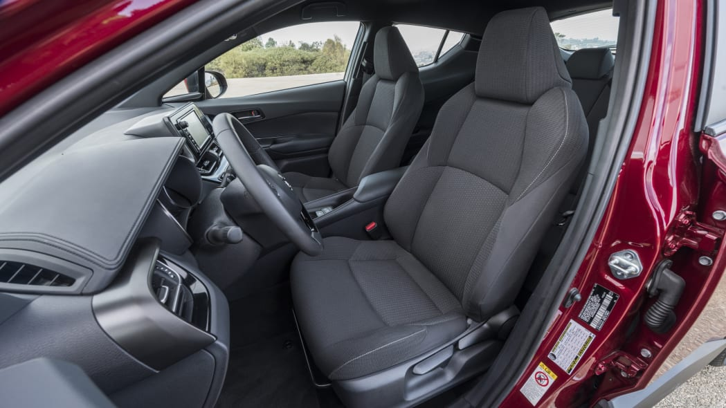 2018 Toyota C-HR Driver and Passenger's Seat