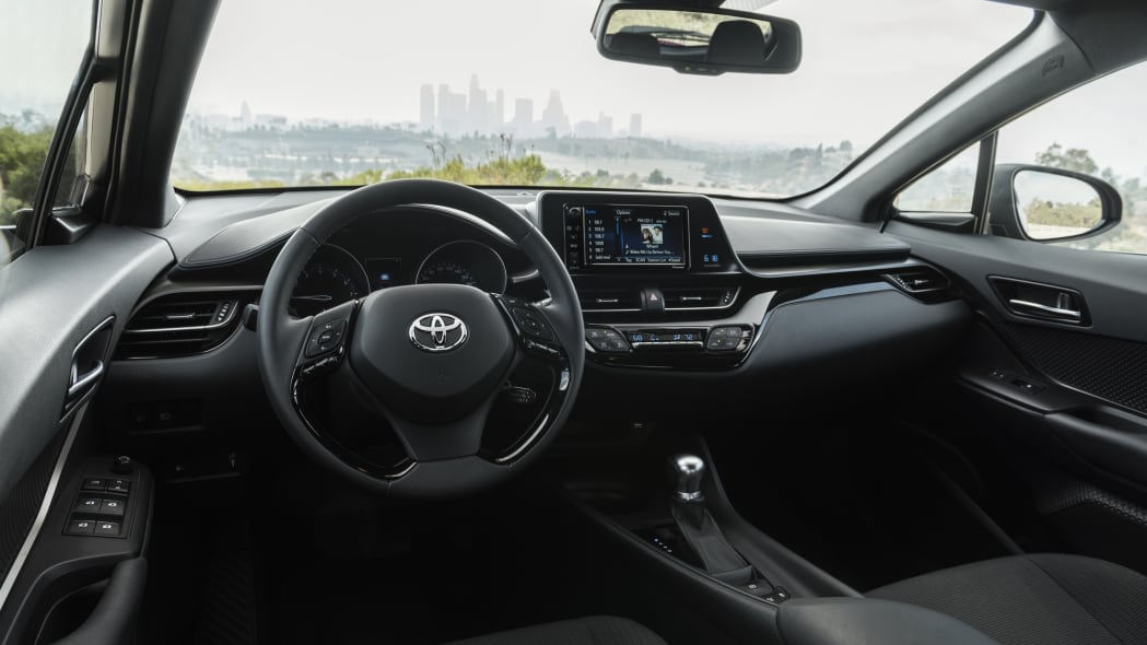 2018 Toyota C-HR Front Driver's Seat Interior