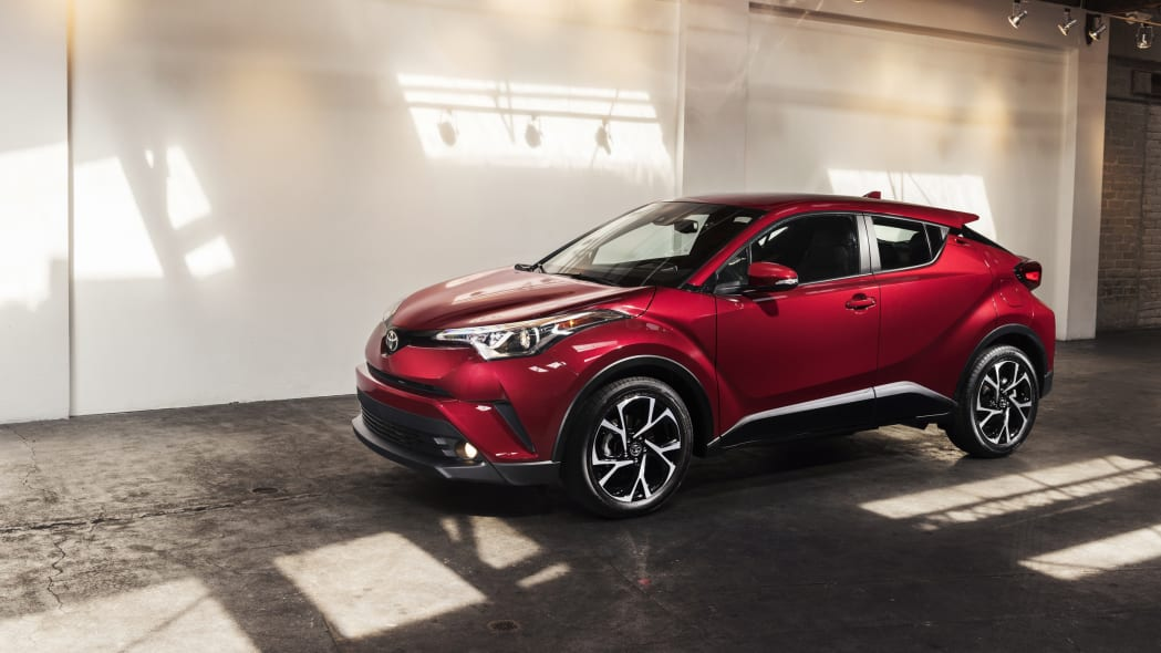 2018 Toyota C-HR Front Three Quarter Exterior