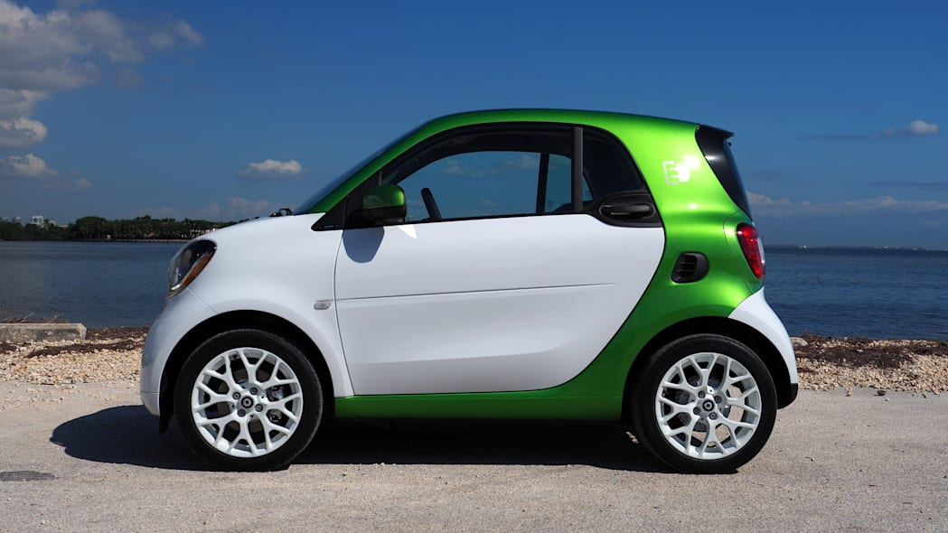 New Smart Fortwo Electric Drive