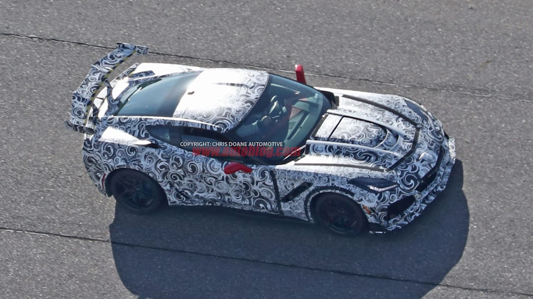 2018 Chevrolet Corvette ZR1 profile