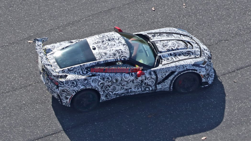 2018 Chevrolet Corvette ZR1 profile 2