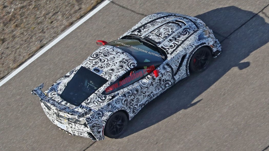 2018 Chevrolet Corvette ZR1 rear 3/4
