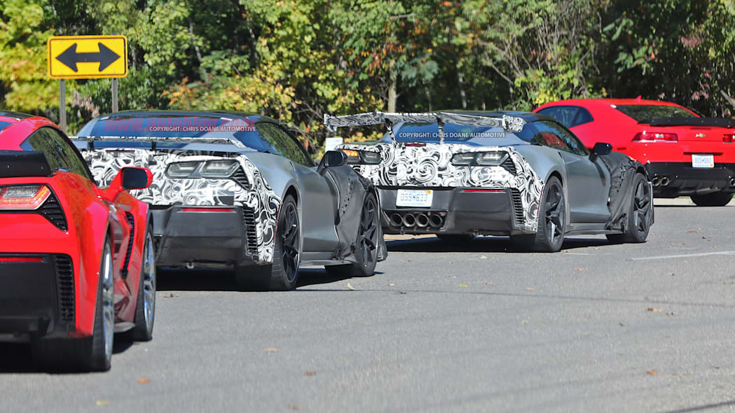 2018 Chevrolet Corvette ZR1 rear