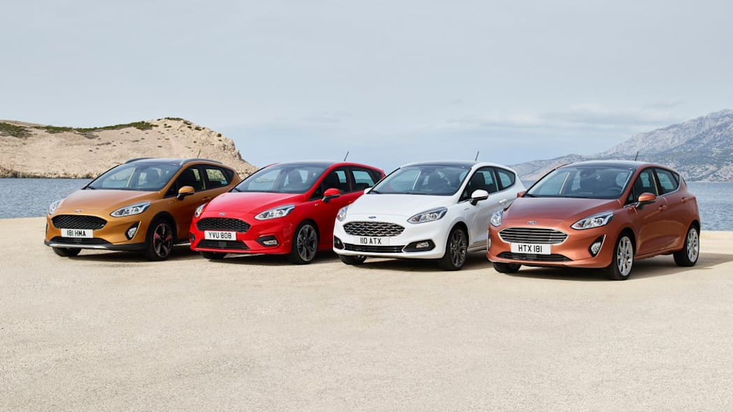 2018 Ford Fiesta line-up