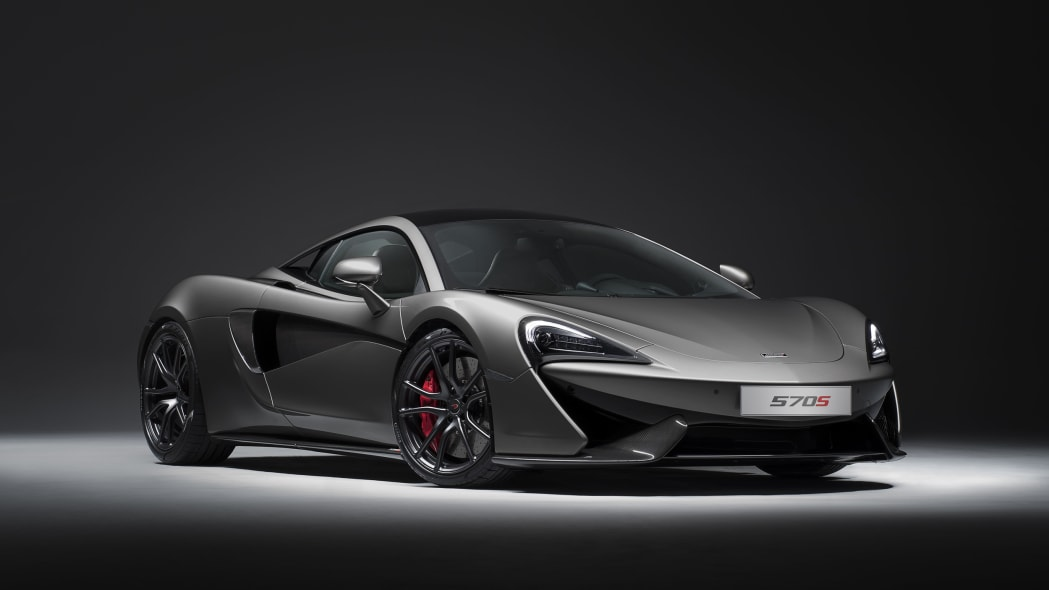 2017 McLaren 570S with Track Pack front 3/4