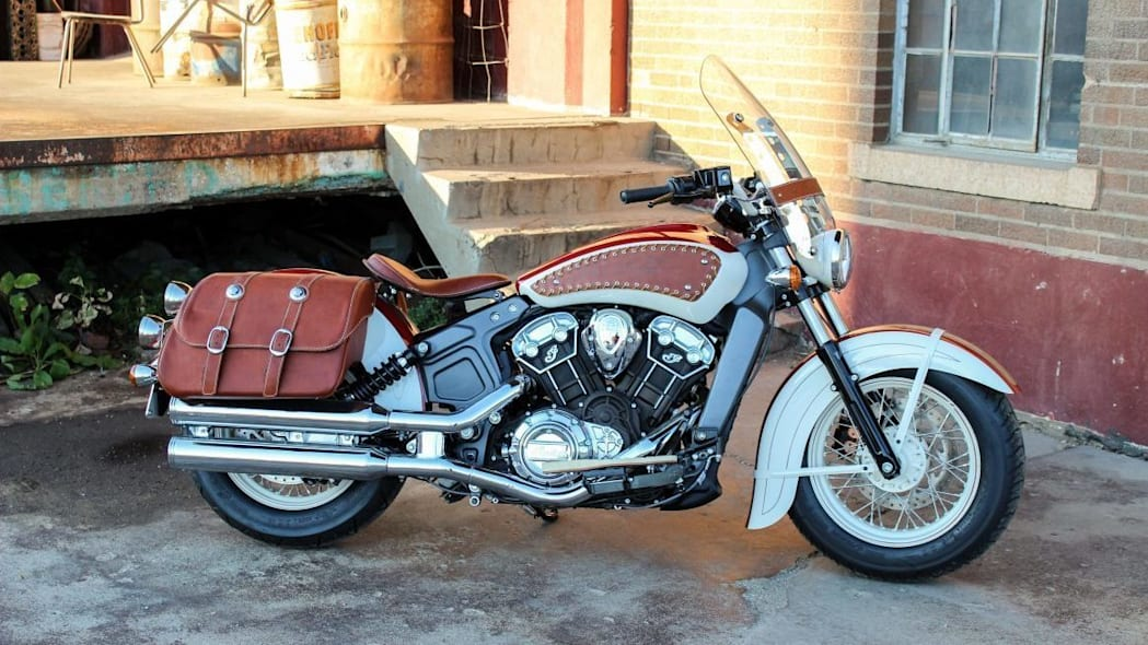 Indian Scout Redwing Concept