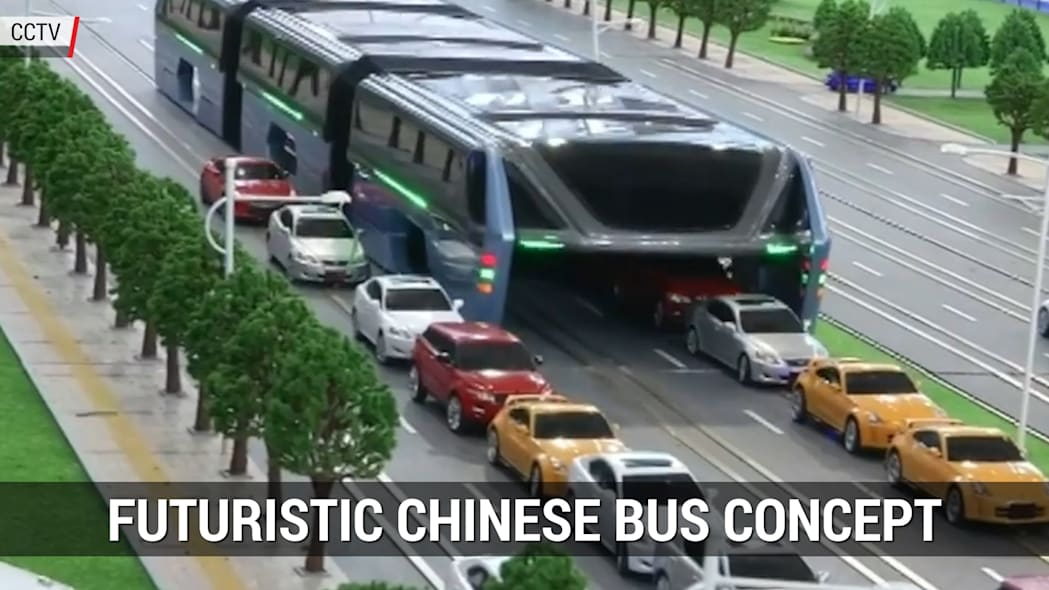 The futuristic Chinese bus that had everyone talking