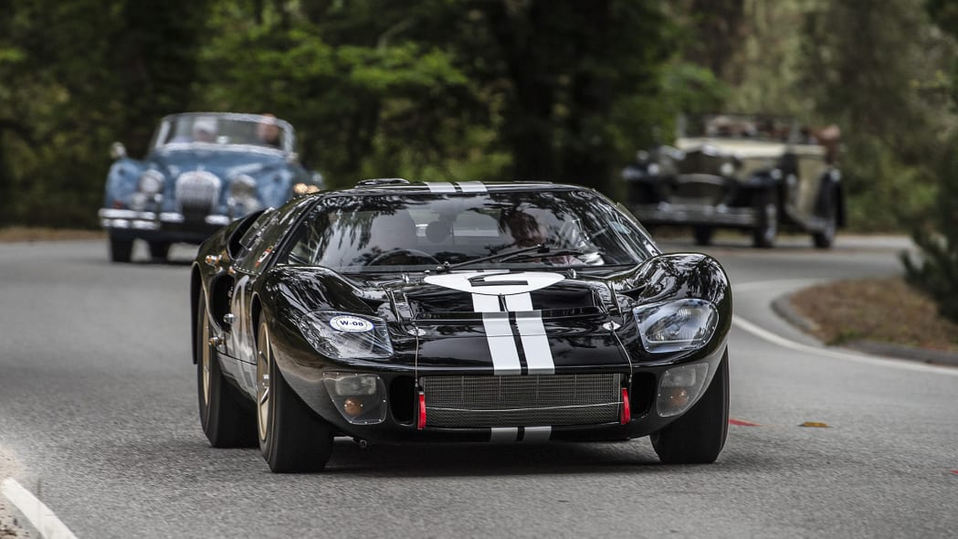 Ford GT40 on the 2016 Pebble Beach Tour d'Elegance