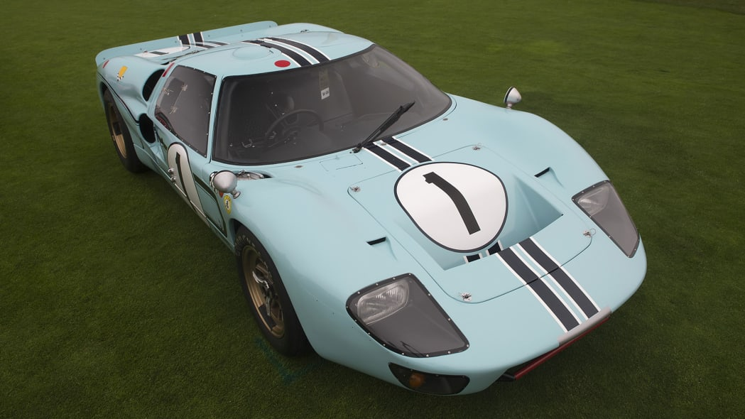 Ford GT40 display at the 2016 Pebble Beach Concours d'Elegance