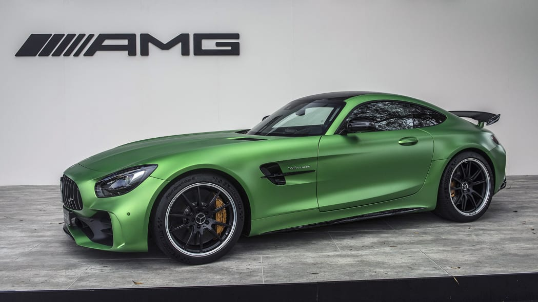 2018 Mercedes-AMG GT R at the Quail Motorsports Gathering