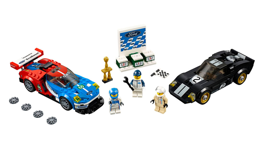 Ford GT and GT40 Lego kit