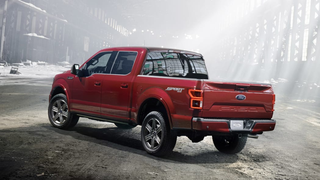 2018 Ford F-150 rear three-quarter