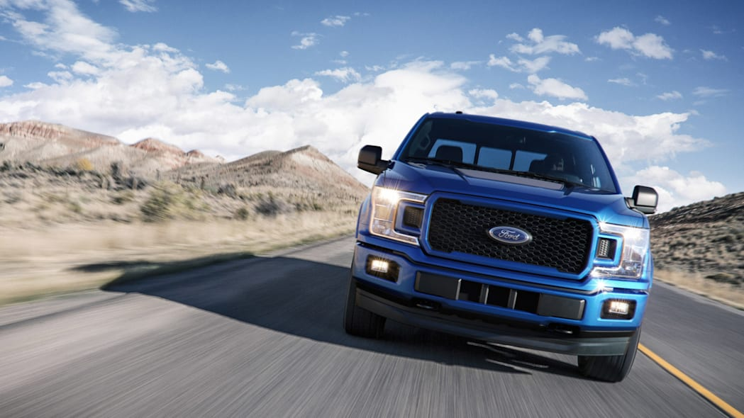 2018 Ford F-150 front end