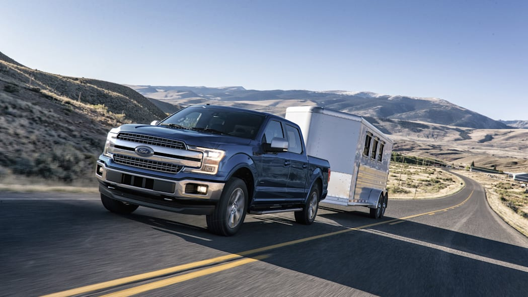 2018 Ford F-150 with trailer