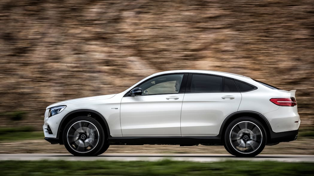 2017 Mercedes-AMG GLC43 Coupe side view