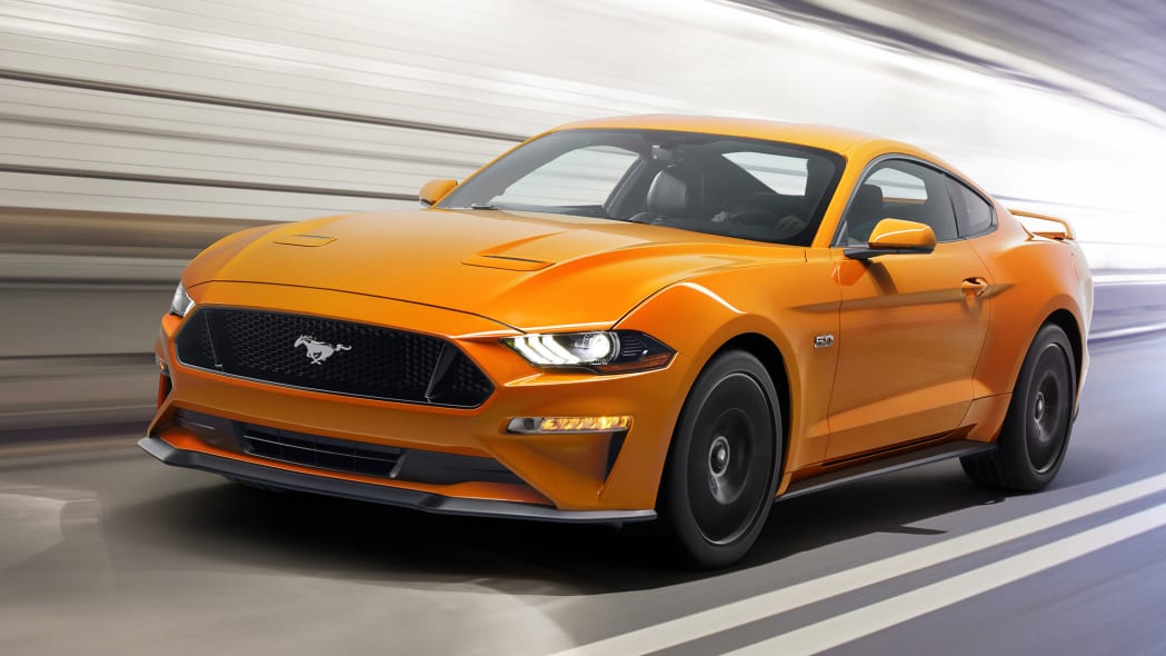 2018 Ford Mustang front