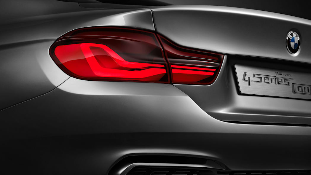 BMW 4 Series Facelift taillight
