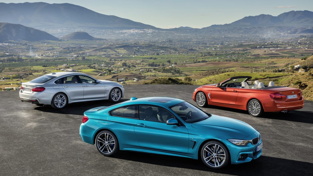 BMW 4 Series Facelift lead