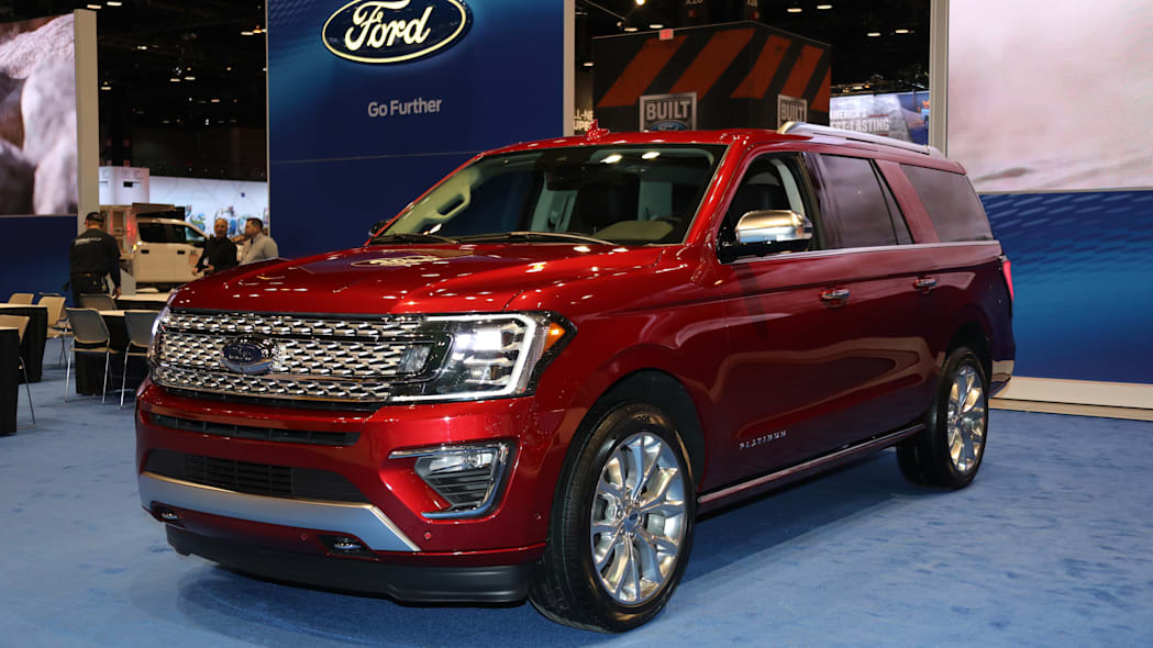 2018 Ford Expedition side