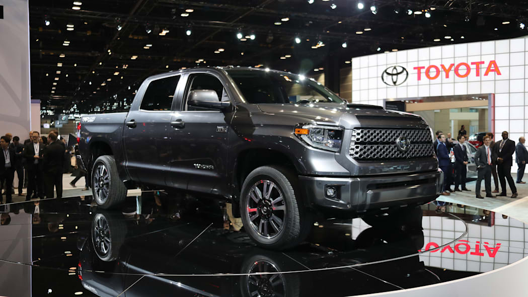 2018 Toyota Tundra TRD Sport front