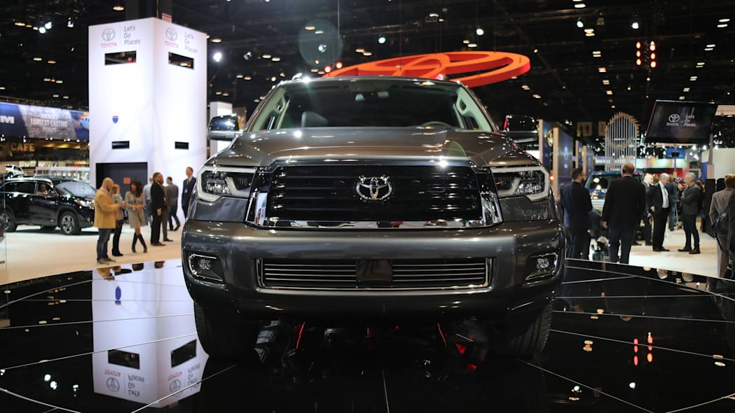 2018 Toyota Sequoia TRD Sport at the 2017 Chicago Auto Show