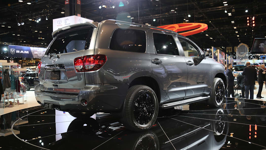 2018 Toyota Sequoia TRD Sport at the 2017 Chicago Auto Show.