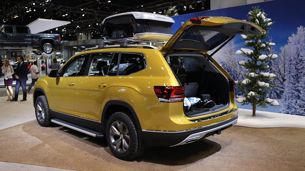 2018 vw atlas weekend edition chicago show