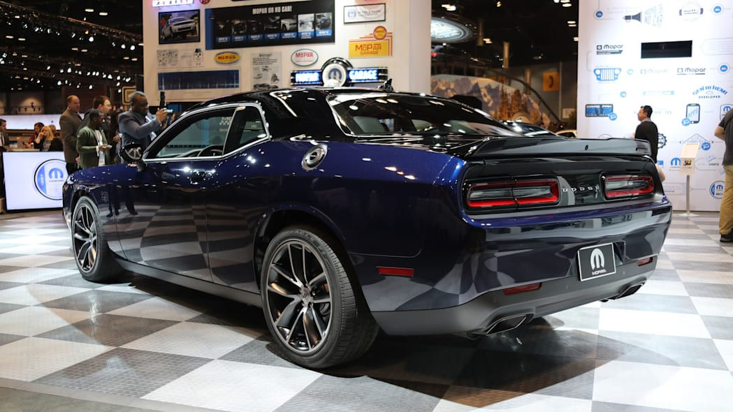 2017 Mopar Dodge Challenger rear profile