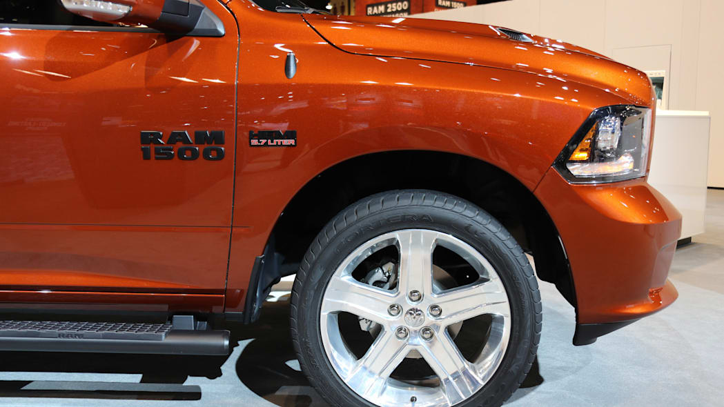 Ram 1500 Copper Sport wheel