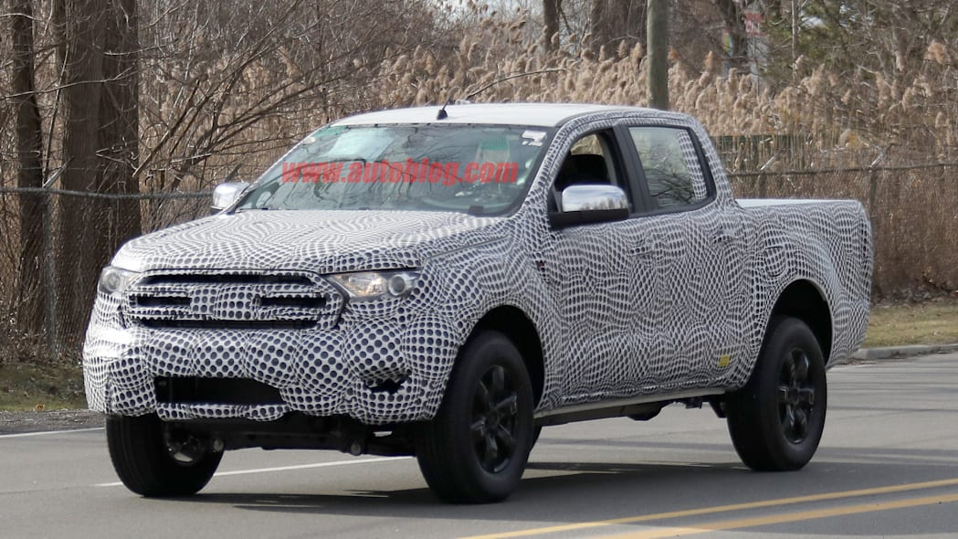 2019 Ford Ranger front camo