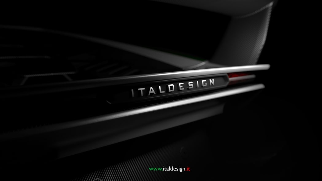 Italdesign Geneva show car teaser