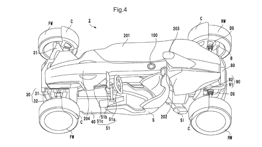 honda files a patent for a mid
