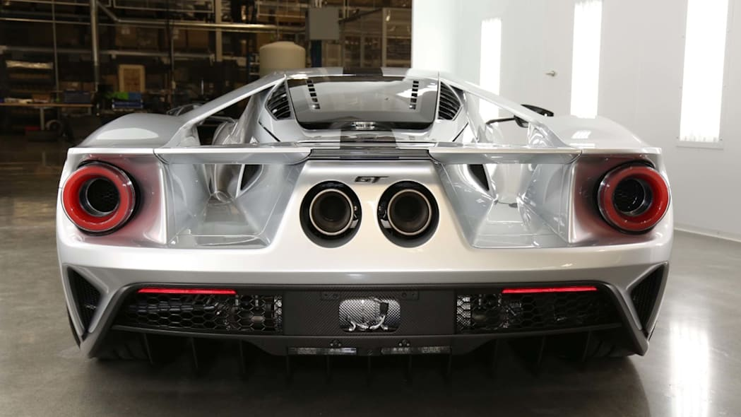 Ford GT Competition Series rear