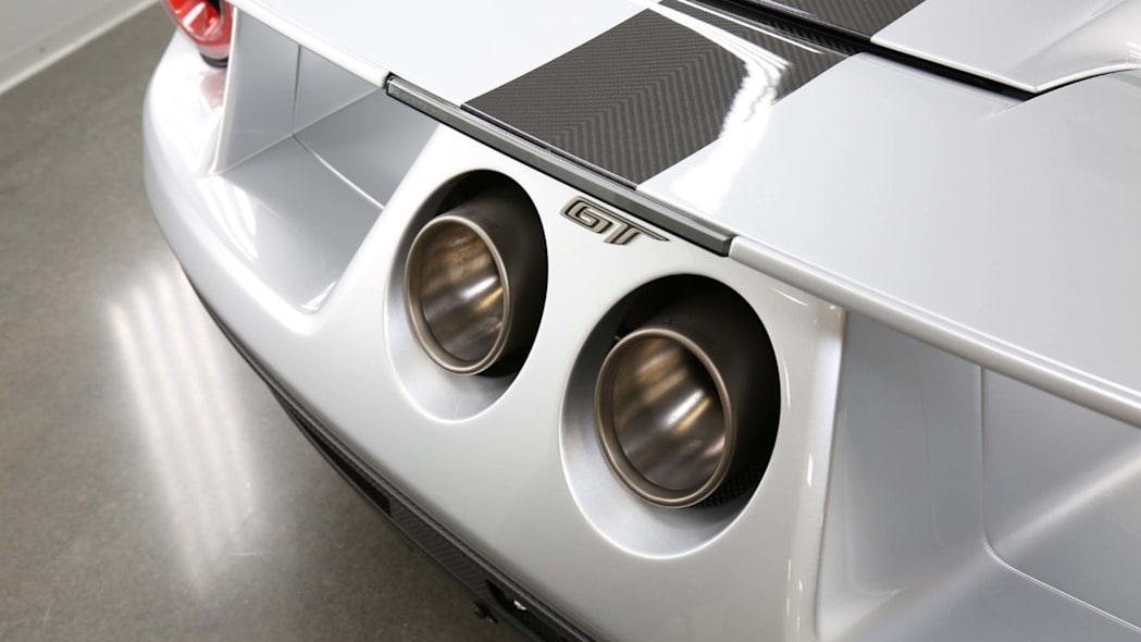 Ford GT Competition Series exhaust