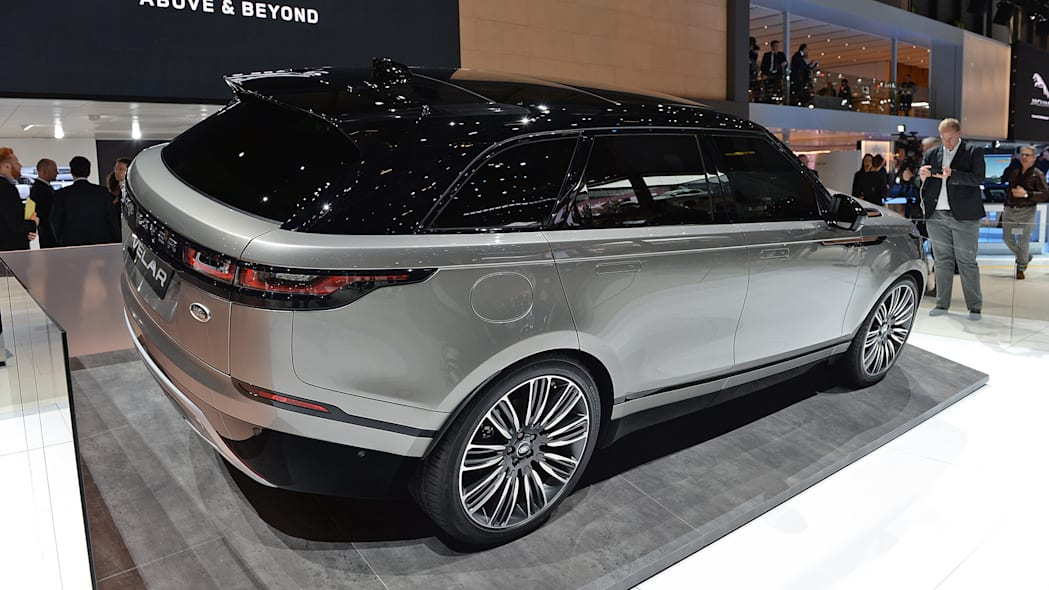 The Range Rover Velar Is A High End Spin On Jaguar F Pace