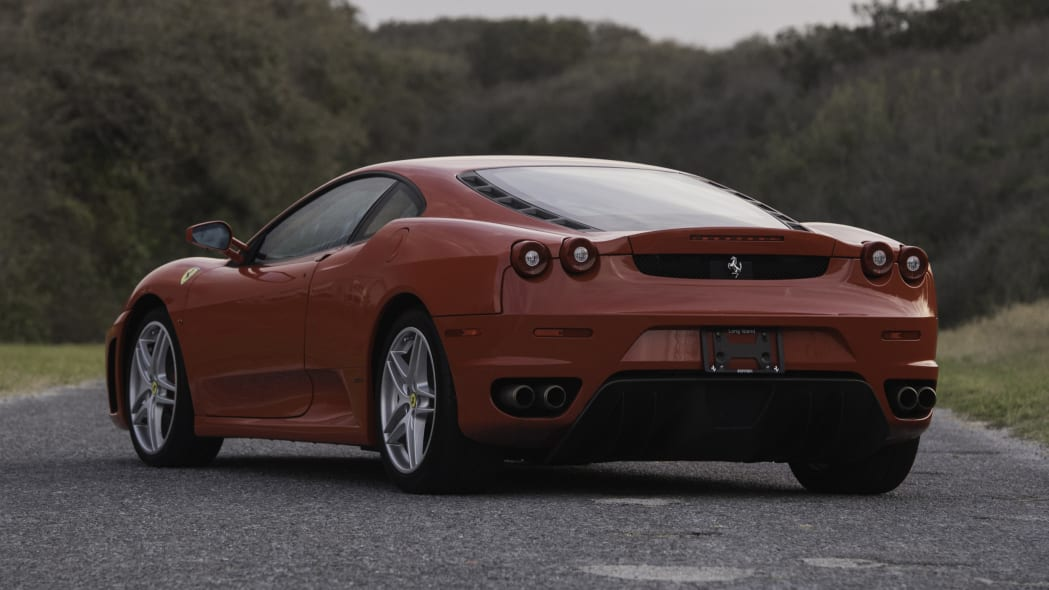 2007 Ferrari F430 owned by Donald Trump