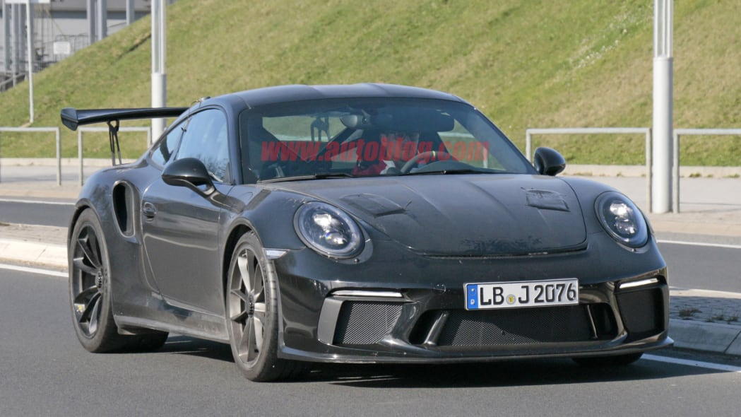 2018 Porsche 911 GT3 RS spy shots