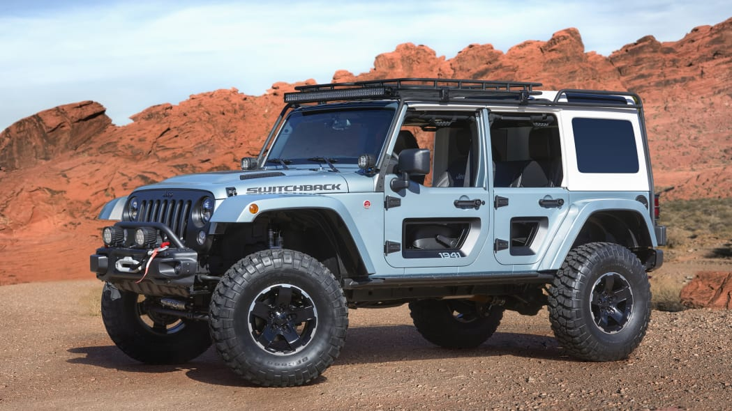 Jeep Switchback Concept: Easter Jeep Safari