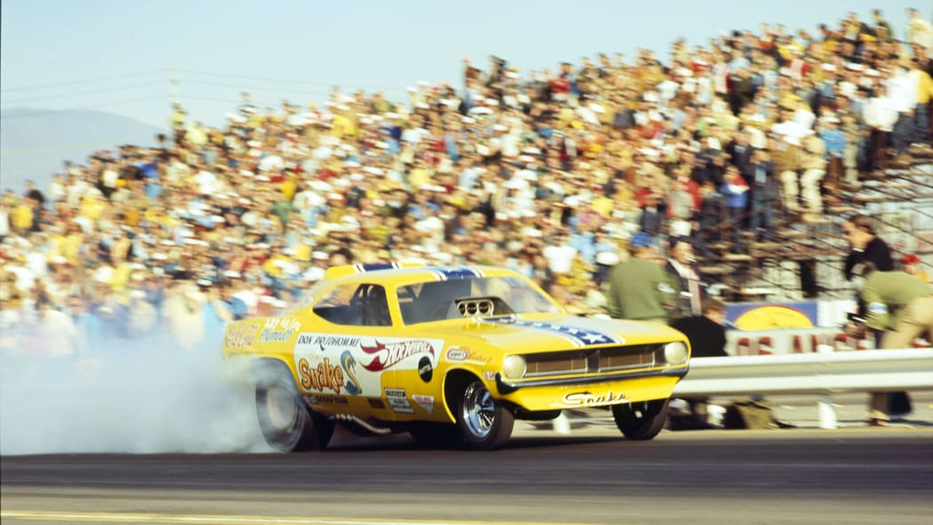 10th Annual NHRA Winternationals - 1970 - Pomona...