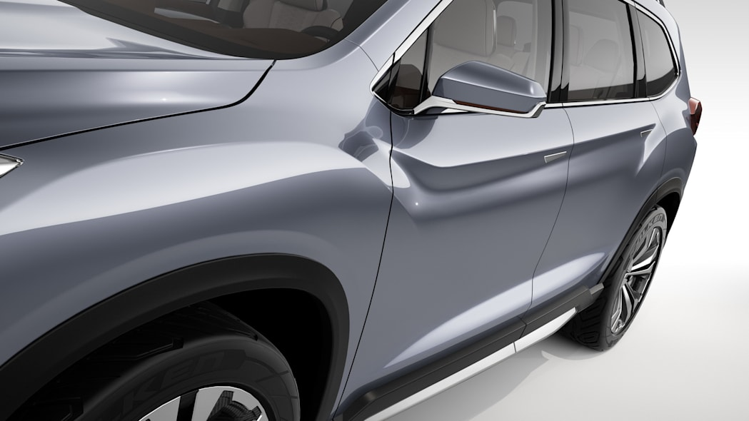 Subaru Ascent Concept bodyside detail