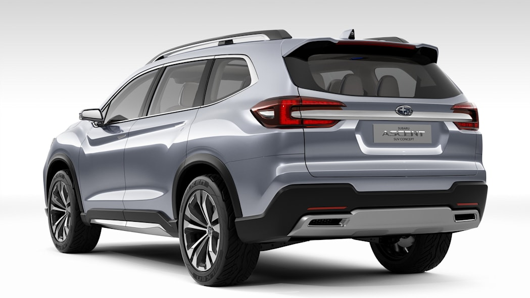 Subaru Ascent Concept rear three-quarter